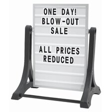 Rocker Double Sided Sidewalk Sign