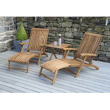 Paleros 3 Piece Sun Lounger Set