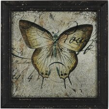 Gerahmter Kunstdruck Butterfly