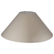45 cm Lampenschirm Slubby Empire aus Kunstseide
