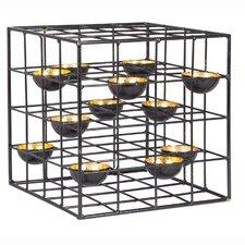 Teelichthalter Cube aus Metall