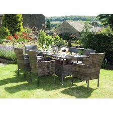 Auckland 6 Seater Dining Set