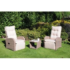 Madrid 2 Seater Conversation Set with Cushions