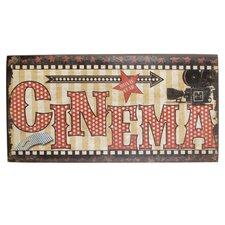 Schild Cinema, Retro-Werbung