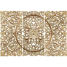 3 Piece Wood Filigree Wall Décor Set
