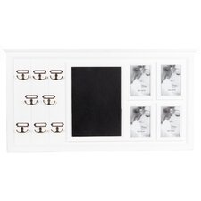 Chalkboard and Photo Frame Hanging Organiser