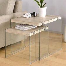 Millennial Upton 2 Piece Nesting Table Set