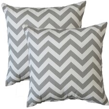 Premiere Home Chevron Throw Pillow (Set of 2)