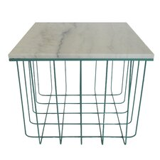 Emery Grid End Table