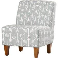 Penelope Arrows Armless Slipper Chair