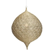 Calabash 1 Light Globe Pendant