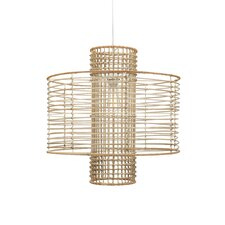 Deco 1 Light Hanging Drum Pendant