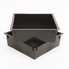2-tlg. Ersatz-Kompostbehälter Nature's Footprint