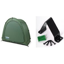 Tidy Tent in Green with Anka Point (Set of 2)