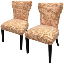 Amelia Chain Slipper Chair (Set of 2)