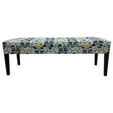Cotton Tufted Bench