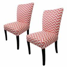 Julia Cotton Parson Chair (Set of 2)