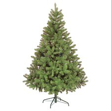 Colorado Slim Spruce Artificial Christmas Tree with Metal Stand