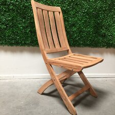 Country Folding Dining Side Chair