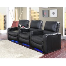 Polaris Home Theater Recliner (Row of 3)