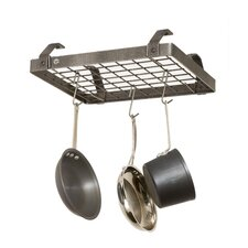Low Ceiling Rectangle Hanging Pot Rack