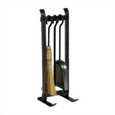 Country Home 3 Piece Steel Fireplace Tool Set