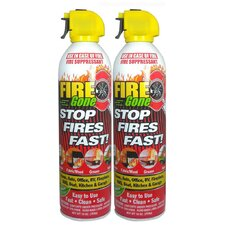 Fire Gone Suppressant (Set of 2)