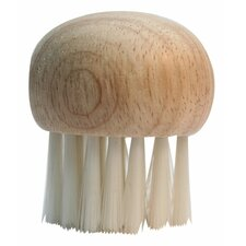 Mushroom Brush with Wooden Top