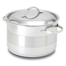 Gourmet 8.5-qt. Stainless Steel Round Dutch Oven