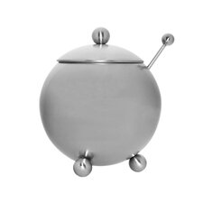 14 oz. Footed Sugar Bowl with Spoon