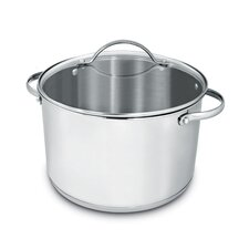 Deluxe Stainless Steel Round Dutch Oven