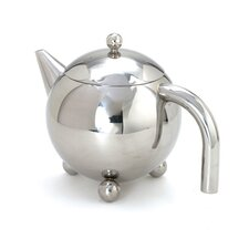 0.94-qt. Footed Teapot with Infuser