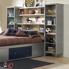 Universal Youth Platform 3 Piece Bedroom Shelf Set