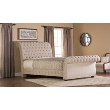 Bombay Upholstered Sleigh Bed