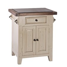 Tuscan Retreat® Kitchen Cart with Granite Top