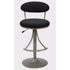 Venus Adjustable Height Swivel Bar Stool with Cushion