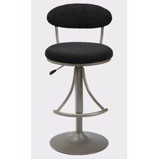Venus Adjustable Height Swivel Bar Stool with Cushion