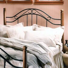 Richardton Wood and Metal Headboard
