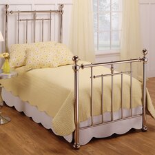 Holland Metal Panel Bed