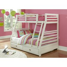 Bailey Twin Over Full Bunk Bed with Trundle