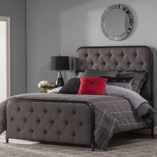 Salerno Upholstered Panel Bed