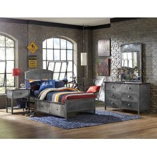 Urban Quarters Panel 4 Piece Bedroom Set
