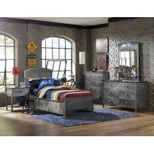 Urban Quarters Panel 5 Piece Bedroom Set