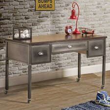 "Urban Quarters 52"" W Writing Desk with Casters"