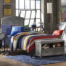 Urban Quarters Panel 2 Piece Bedroom Set