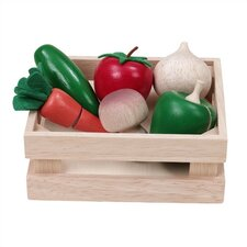 WonderEducation Veggie Basket Play Set