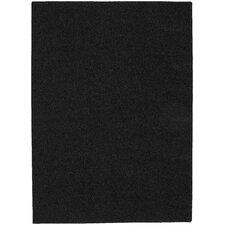 Blackest Black Shazaam Area Rug