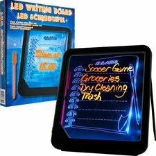 LED Writing Menu Message Lap Board Whiteboard, 1' H x 1' W