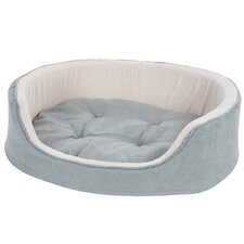 Suede Cuddle Round Pet Bed