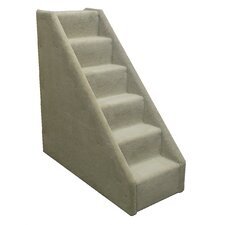 Bear's Stairs™ Mini Carpeted 6 Step Pet Stair